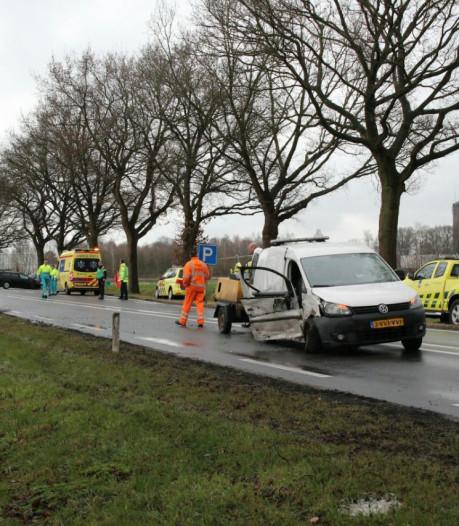Gewonde bij ernstig ongeluk op N35 bij Raalte, weg weer open