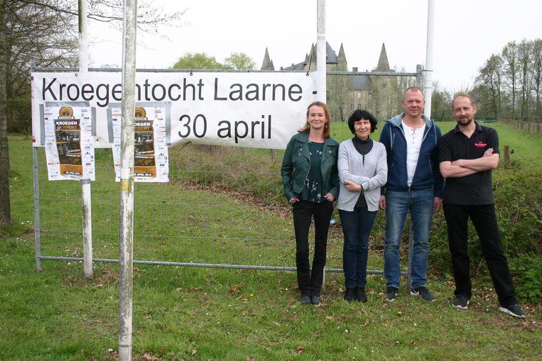 De organisatie achter de 24ste Kroegentocht op 30 april.