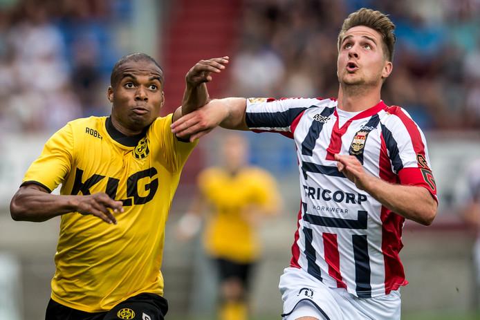 Het lijkt er nu echt op dat Jordens Peters tegen Roda JC voor het laatst het shirt van Willem II droeg.
