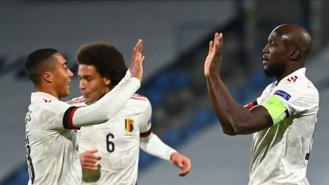 Lukaku - wie anders - bezorgt Rode Duivels met twee goals een grijze overwinning tegen IJsland