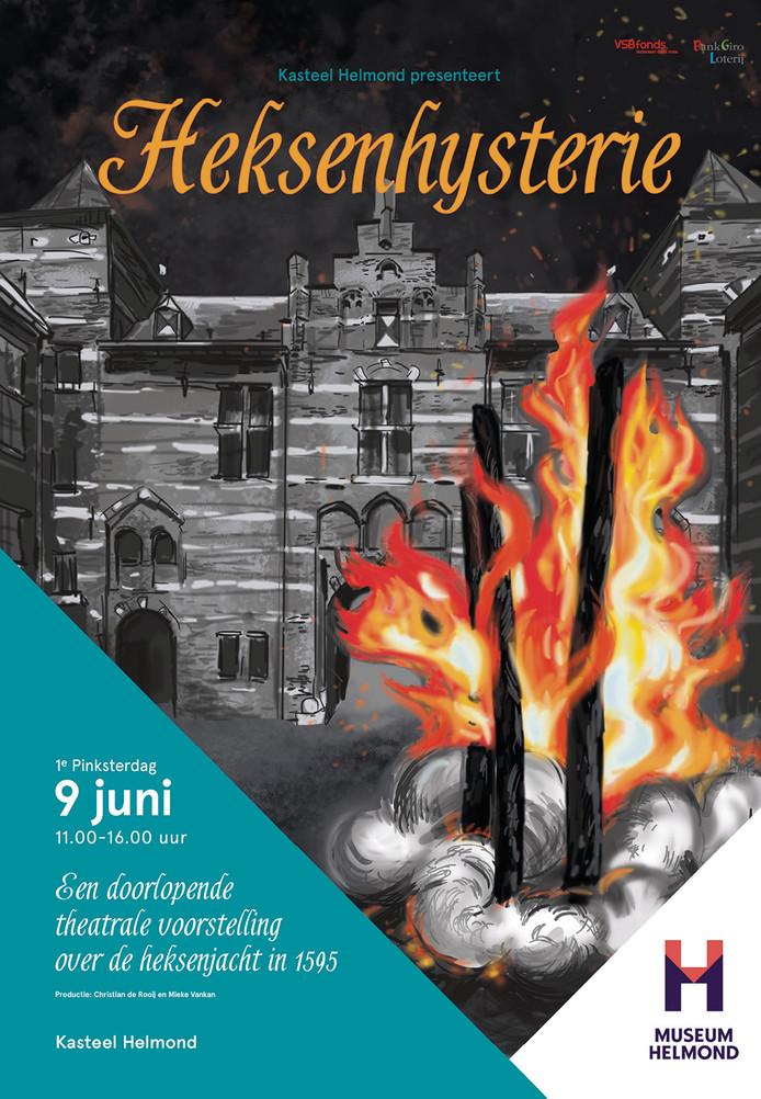 Affiche Heksenhysterie Museum Helmond