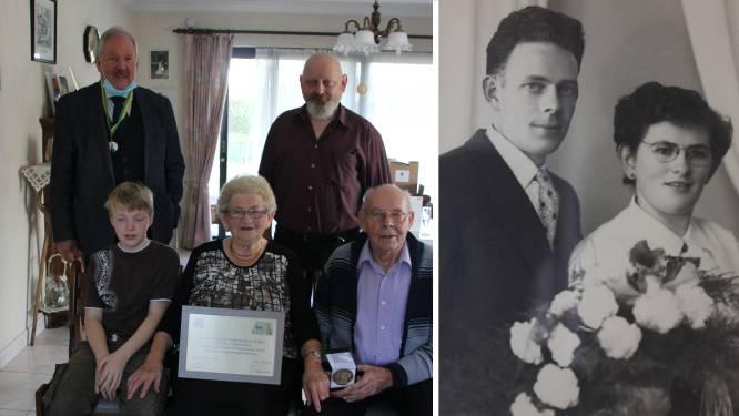 Henri en Godelieve vieren 65 jaar huwelijksjubileum