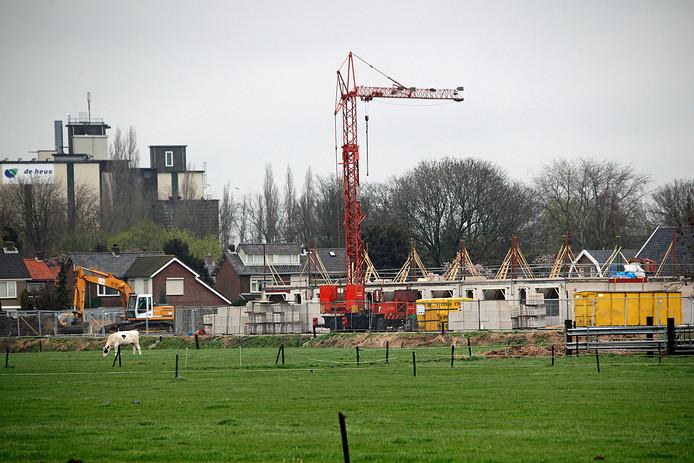 Woninbouw aan de Bronkhorst in Andel, enige jaren geleden.