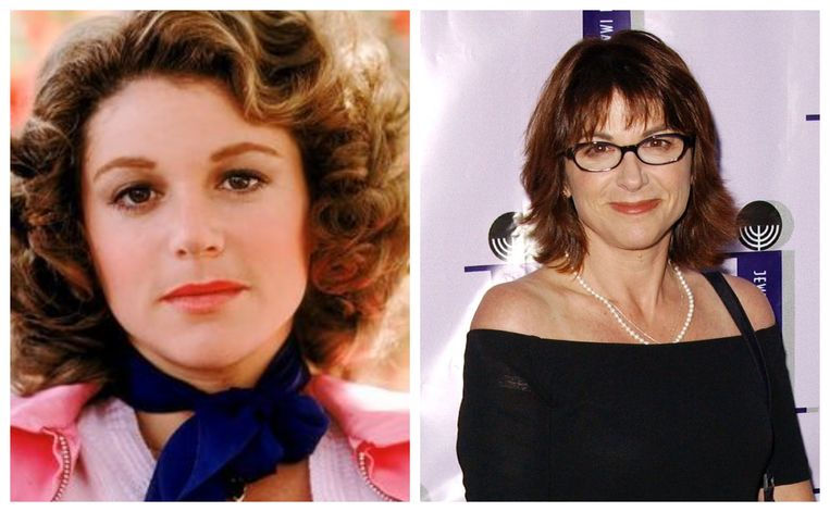 Dinah Manoff toen en nu.
