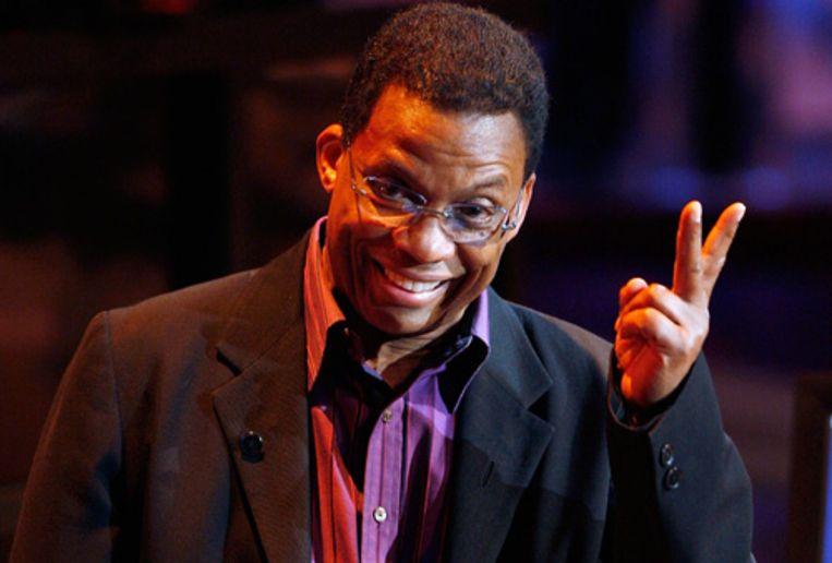 Jazzlegende Herbie Hancock dit jaar weer op het North Sea Jazz Festival. (AP) Beeld