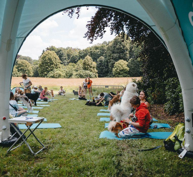 Dit weekend werd op het domein Groenenberg in Vlezenbeek voor het eerst 'Meet 'n Treat' georganiseerd.