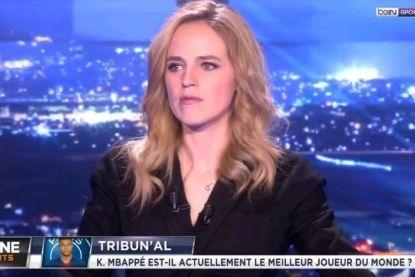 Franse tv-presentatrice met de dood bedreigd na verhitte discussie rond vraag of 'Mbappé de beste speler ter wereld is'