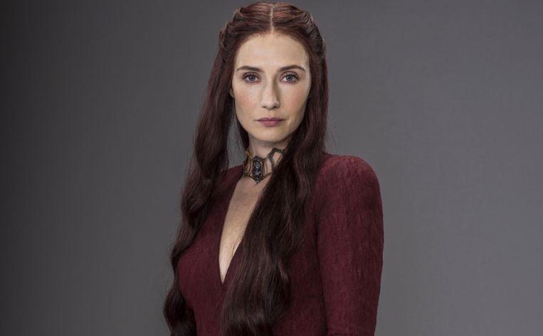 Carice Van Houten als Melisandre.