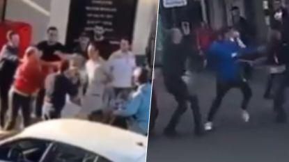Verschillende mannen met elkaar slaags op Turnhoutsebaan in Borgerhout