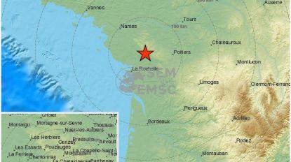 Aardbeving treft Franse westkust