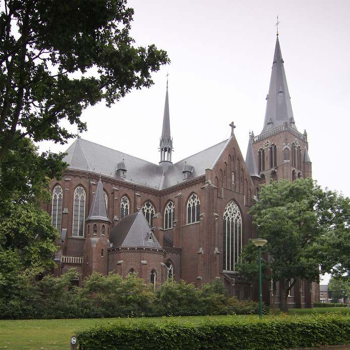 De Willibrorduskerk in Berghem.