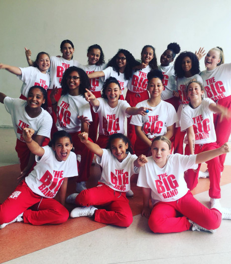 Meiden van dansstudio naar WK Streetdance Engeland