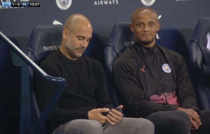 Guardiola et Kompany