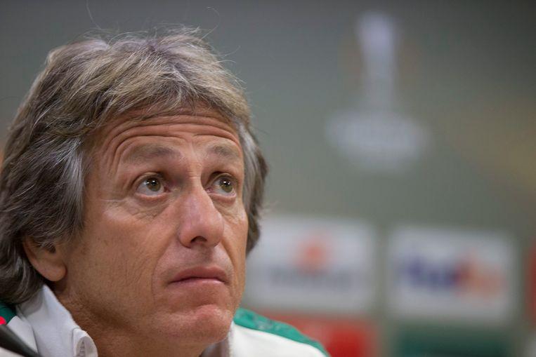 Jorge Jesus, coach van Sporting Lissabon.