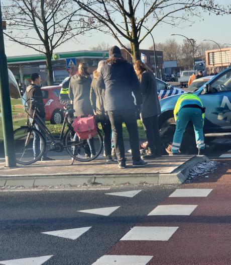 Fietser gewond na aanrijding op de Westsingel in Bunschoten-Spakenburg