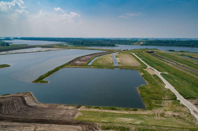 De bouw van het Reevedorp met haven (hier in aanleg in mei 2018) is nog geen gelopen race.