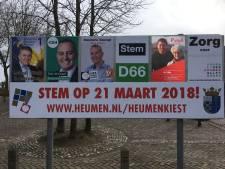 Zes lijsttrekkers in debat in Nederasselt