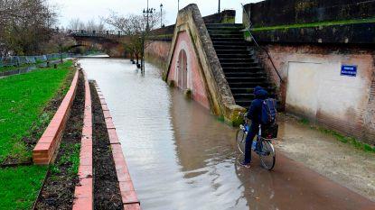 Twee doden bij noodweer in zuidwesten van Frankrijk, 25.000 huishoudens zonder stroom