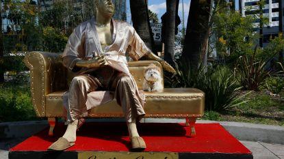 Harvey Weinstein krijgt schunnig standbeeld op Hollywood Boulevard