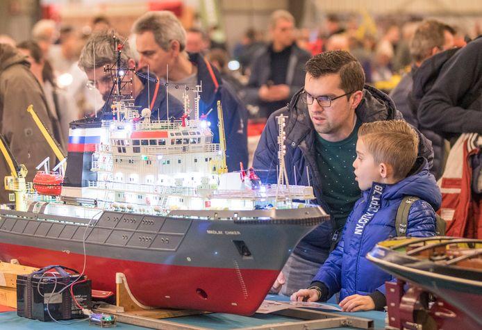 De modelbouwshow van dit jaar in de Zeelandhallen in Goes.
