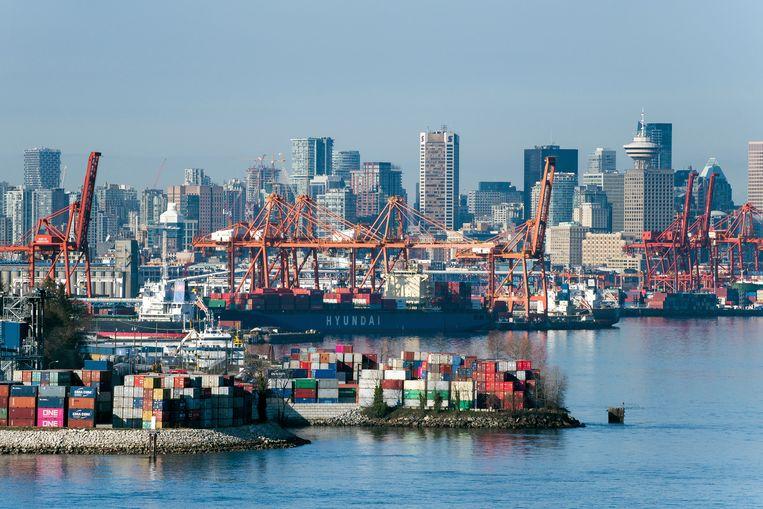 De haven van Vancouver.  Beeld Getty