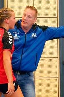 Nipte nederlaag voor handbalsters PSV