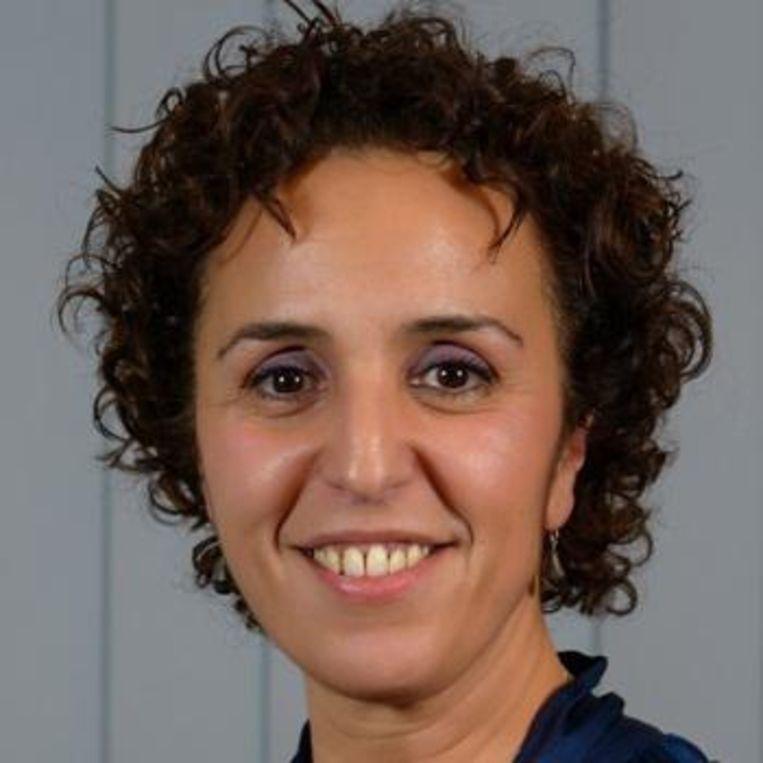 Brussels Parlementslid Khadija Zamouri.