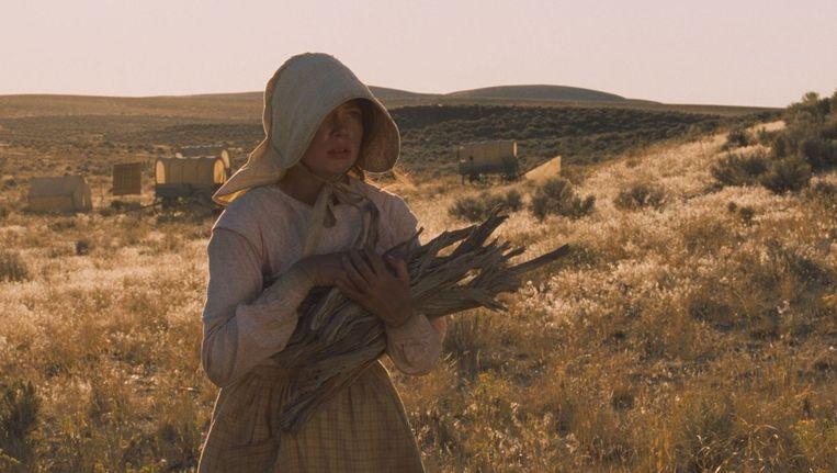 MIchelle Williams in Meek's Cutoff. Beeld -
