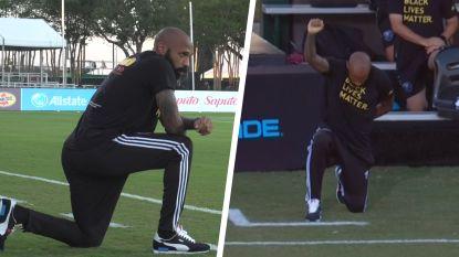 Henry knielde niet zomaar 8 minuten en 46 seconden: hoe een legendarische voetballer na een stevige uitschuiver al 15 jaar tegen racisme strijdt