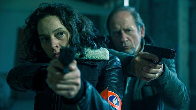 Dirk Van Dijck (Peter Devriendt) en Marie Vinck (Vicky Degraeve).