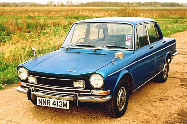 Simca 1300 Beeld