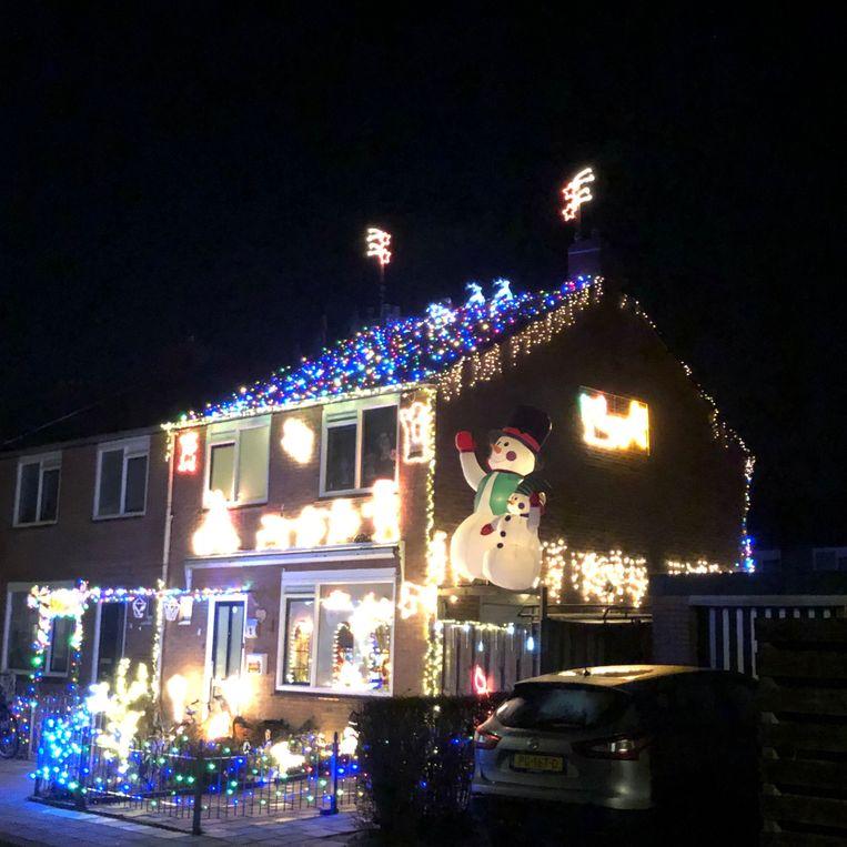 Het kersthuis, vooraanzicht Beeld null