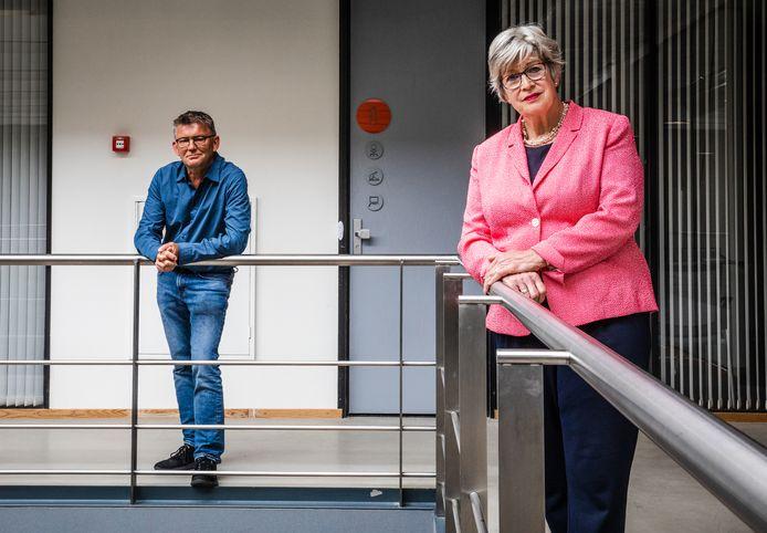 Willy Reijnders en Rob de Bruin van de cliëntenraad van het Parkhuis hebben vertrouwen in het beleid van het Dordtse verpleeghuis.