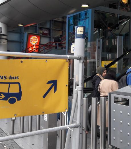 Treinreizigers tussen Den Bosch, Eindhoven en Tilburg nemen bus voor lief