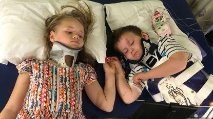 Broer en zus zien elkaar terug na ongeval waarbij hun ouders en zusje om het leven kwamen