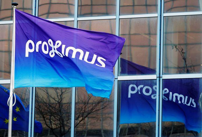 Proximus legt nutsleidingen aan.