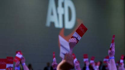 Extreemrechtse AfD voor het eerst groter dan socialistische SPD in Duitse peiling