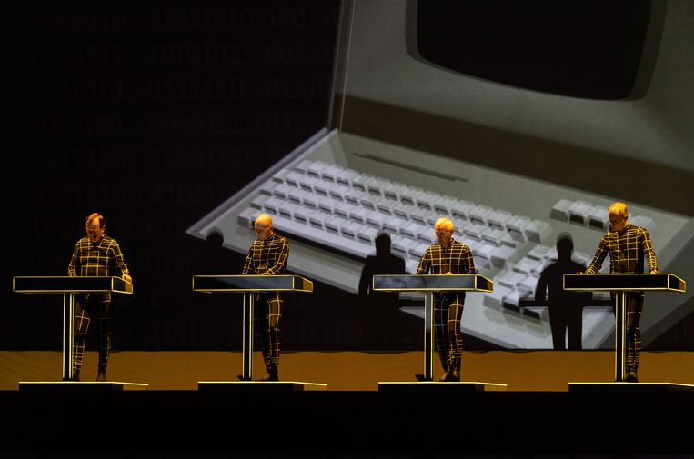 De Duitse band Kraftwerk.