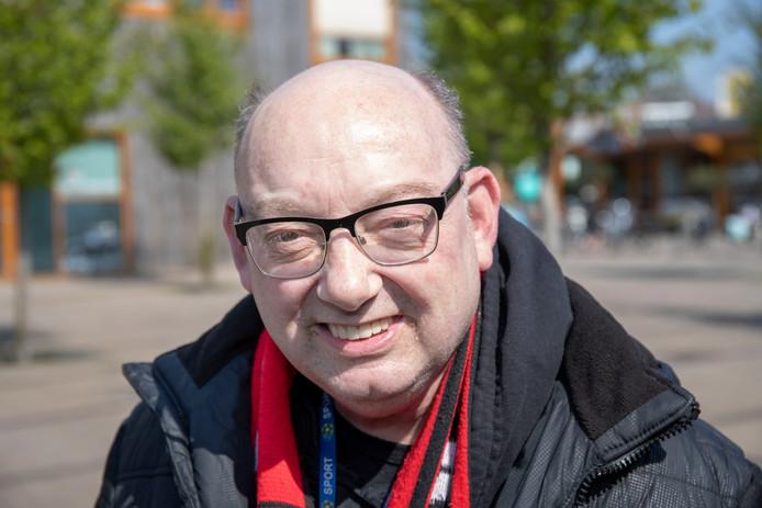 André Hokke woont al jaren in Veenendaal, maar is oud-Amsterdammer.