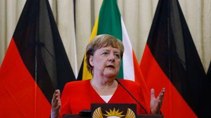 """Verkiezing van minister-president met extreemrechtse stemmen """"onvergeeflijk"""" volgens Merkel"""