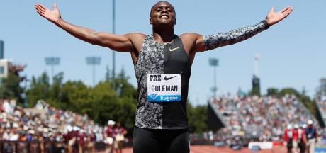 Topsprinter Coleman mogelijk niet op WK en Spelen door gemiste dopingtests