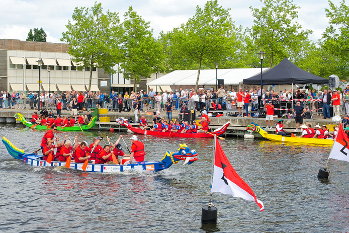Drakenbootrace in 2014.