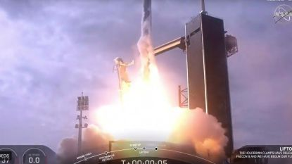 SpaceX laat expres raket in de lucht ontploffen voor test