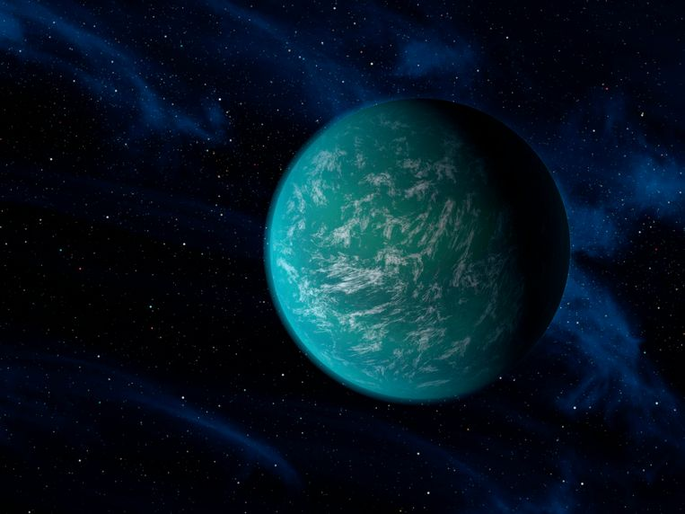 Kepler-22b. Beeld reuters