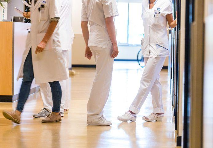 Verpleegkundigen in het ziekenhuis