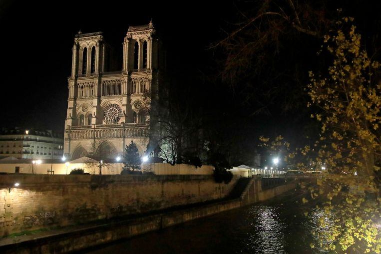 De Notre-Dame in Parijs.
