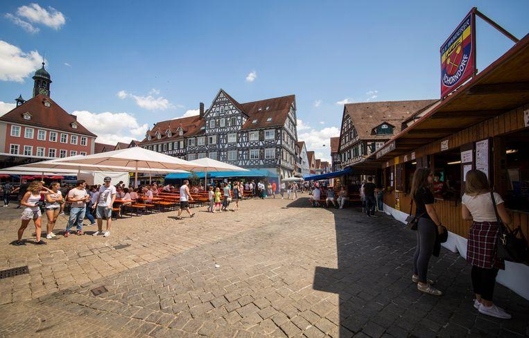 In Schorndorf vond vorige week de 'Schondorfer Woche' plaats.