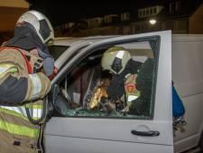 Bestelbus afgebrand in Mijdrecht, politie vermoedt brandstichting