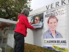 Verkiezingsvandalen houden in Moergestel de politiek bezig