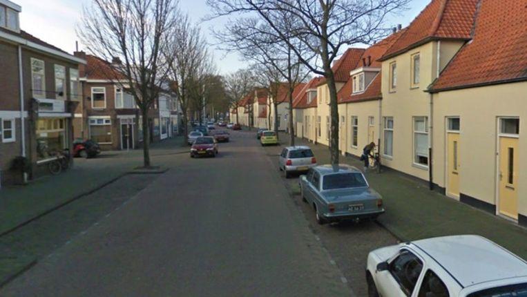 Gedeelte van de Korenbloemstraat Beeld Google Streetview